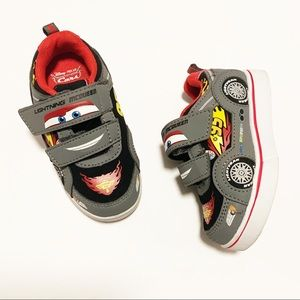Disney Cars Lightning McQueen Shoes size 8